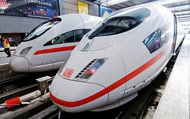 High Speed Trains in Germany
