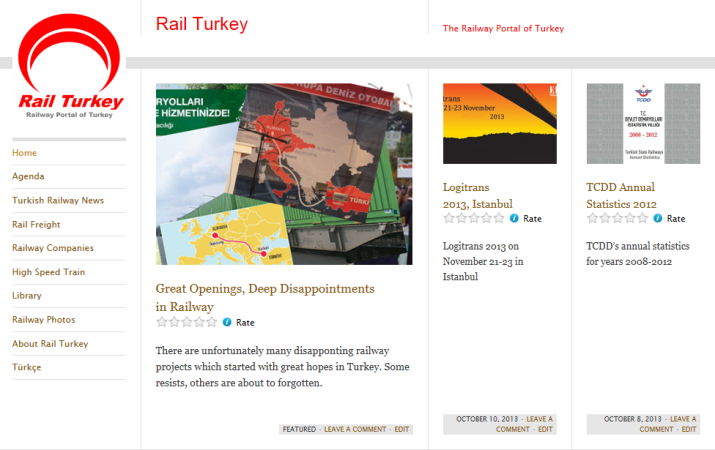 51 - Rail Turkey