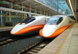 High Speed Train in Taiwan