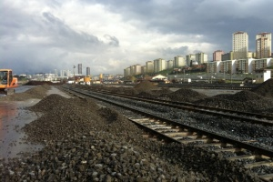 Halkali Construction Works, Photo: Eksper Rail