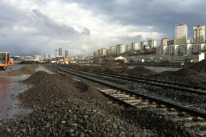 Halkali Construction Works, Photo: Eksper Rail
