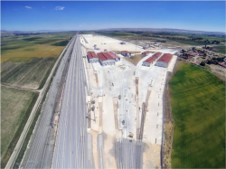 Hasanbey Logistic Center, located next to industrial area in Eskisehir will be opened in March