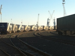 New Departure Points for Container Trains