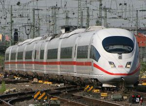 Siemens Velaro, Photo: Wikipedia