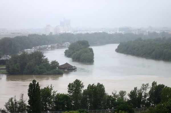 Flood In Serbia. Photo: Aktron / Wikimedia Commons