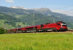 ÖBB Railjet, Austria