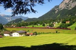 ÖBB Railjet at Arlberg, Austria
