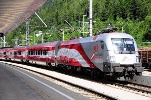 ÖBB Railjet in 175th Year, Austria