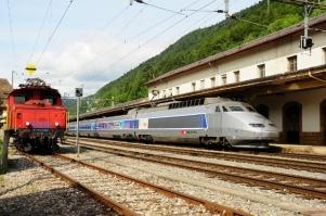 TGV Sud-Est, Switzerland