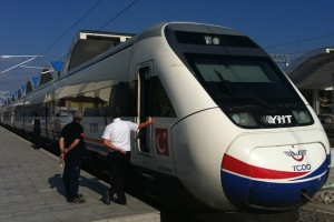 High Speed Train Set in Turkey. Photo: Rail Turkey