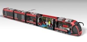 Silkworm Tram. Illustration: Durmazlar