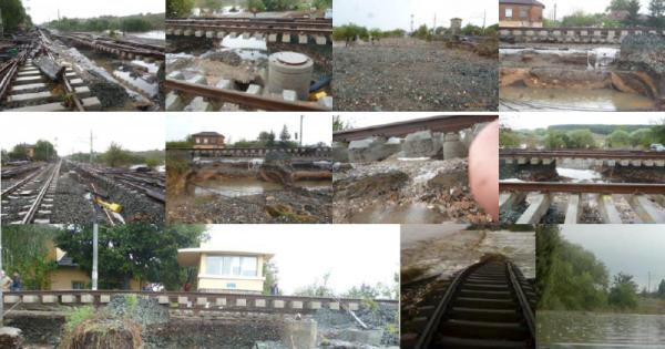 Flood in Bulgaria. Photos: Metrans