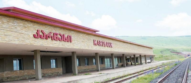 169 - Kars Baku Tbilisi railway -Azerbaijan Railways