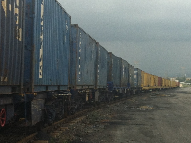 Container Train at Payas, 2014. Photo: Rail Turkey