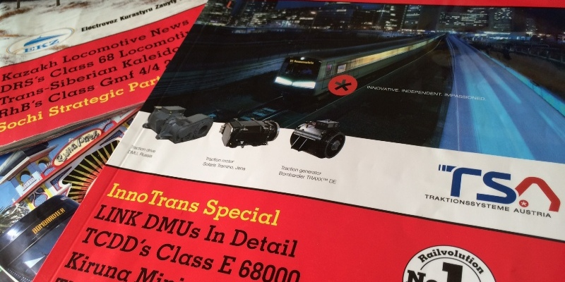 Railvolution Railway Magazine