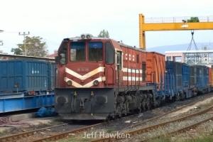 244 - TCDD konteyner treni - Jeff