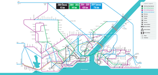 Rail System Plans of Istanbul