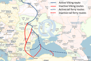 Viking Train Route