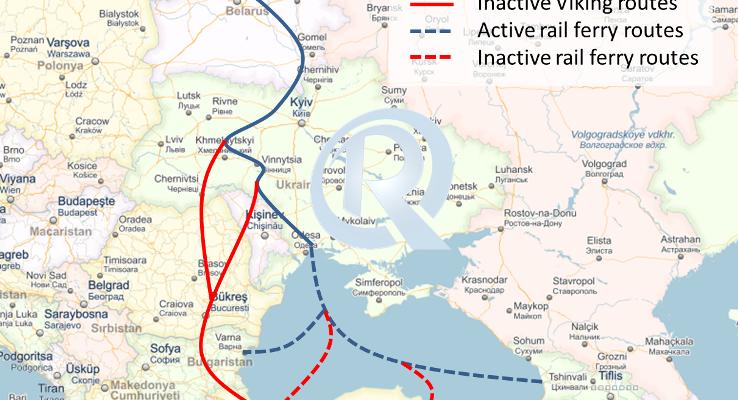 Viking Train Route