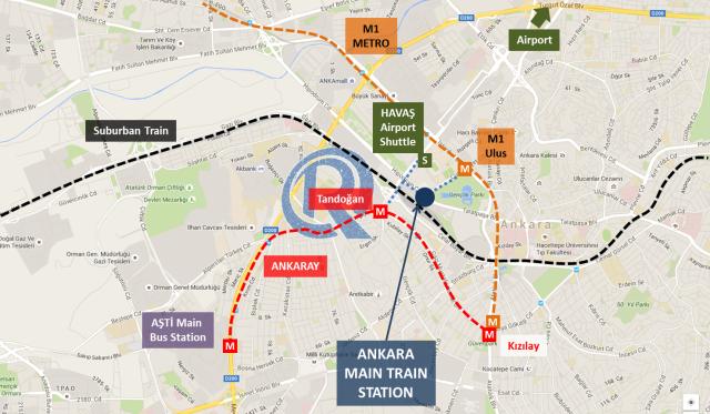 Ankara City Map