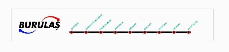 Bursa T3 Route Map