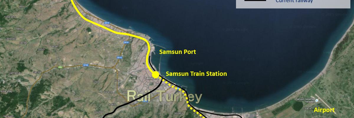 539 - Samsun Tram Routes