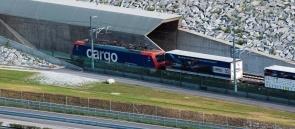 581 - Gotthard tunnel - Hupac