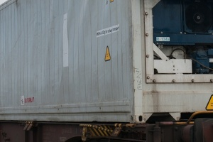 590 - Frigo container train - Marseille Port