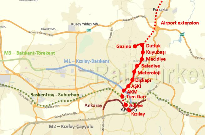 M4 Kecioren Metro