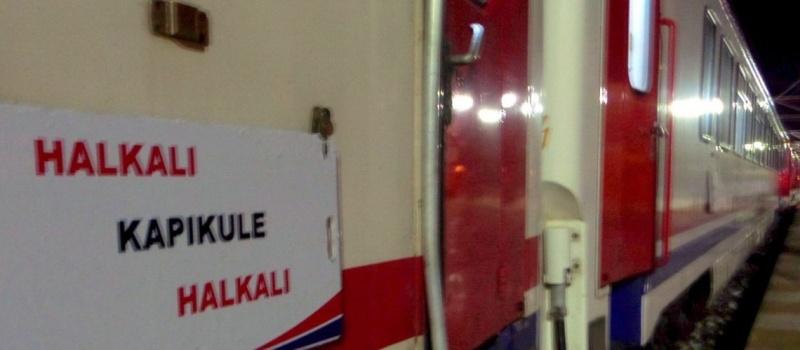 608 - Halkalı Kapikule treni - İhsan Dolguner