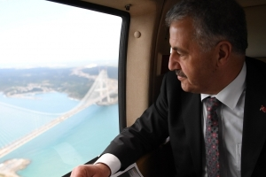 Transport Minister Ahmet Arslan
