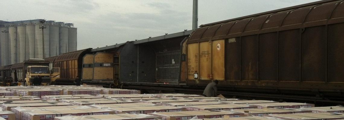 635 - Freight wagons at Derince - Onur