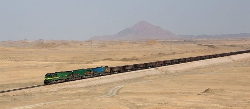 663 - Iran railways - Kabelleger David Gubler
