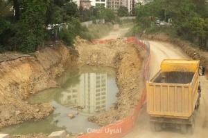 681 - Marmaray inşaatı - Onur