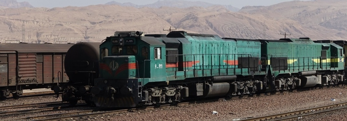 690 - Freight trains in Iran - Vitali