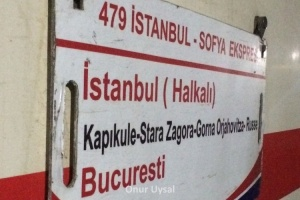 709 - İstanbul Bükreş Treni - Onur