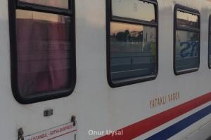 727 - İstanbul Sofya Treni - Onur