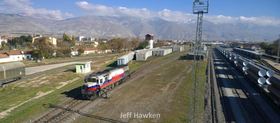 772 - TCDD freight train - Jeff