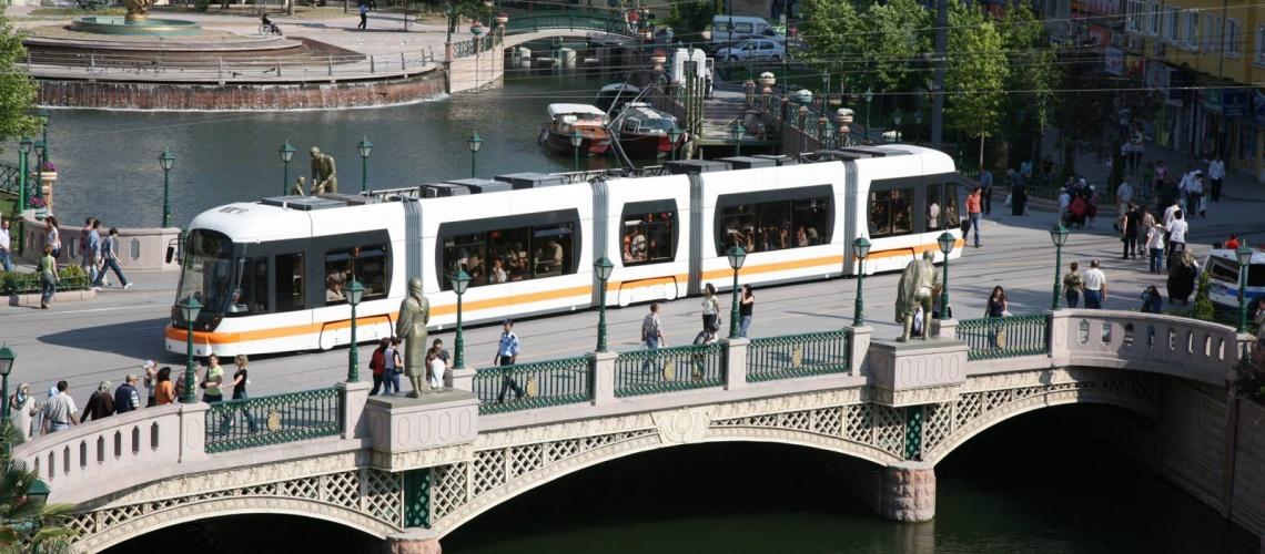 834 - Eskişehir tramvayı - Estram