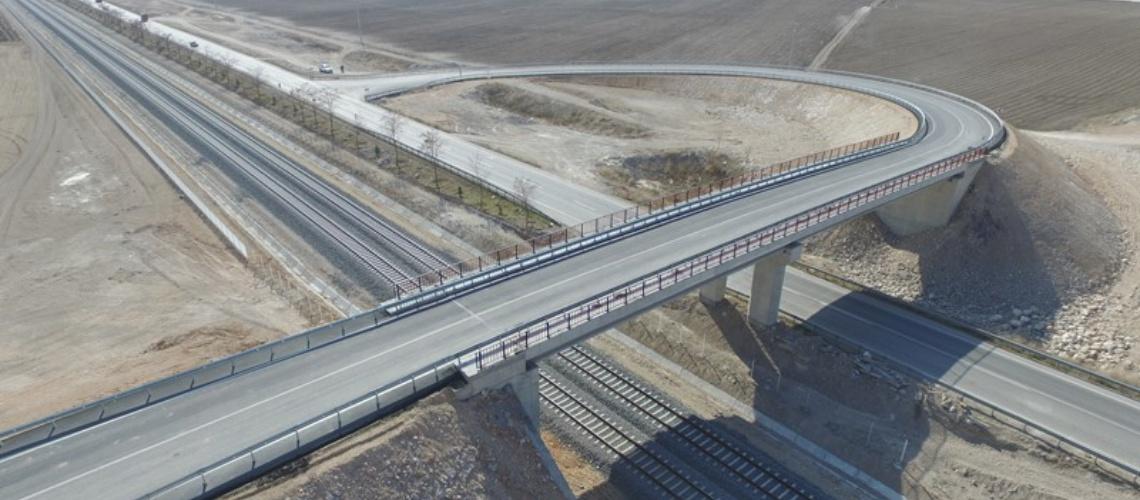 847 - Konya Karaman hızlı tren hattı - TCDD
