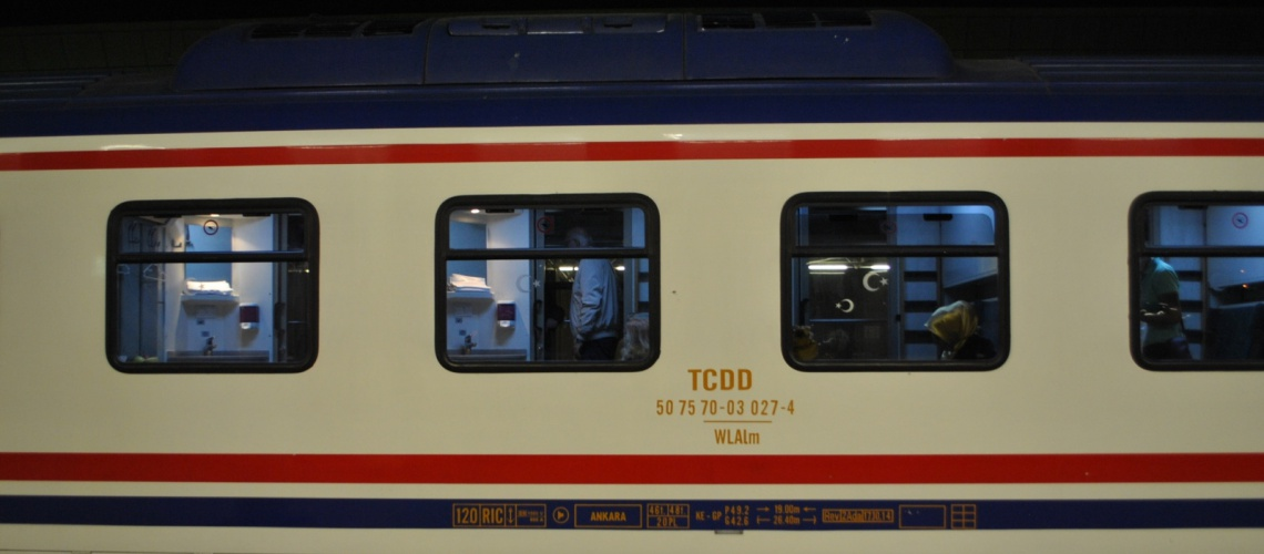 895 - TCDD passenger train - Dusko Djuric