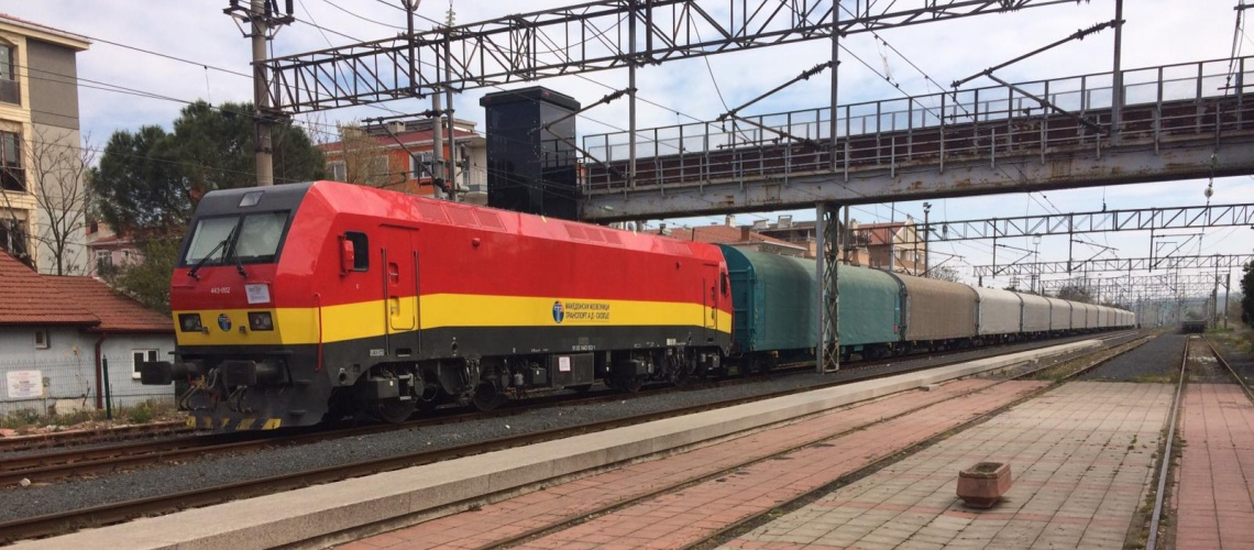962 - CRRC loco for Macedonian Railways - EA Rail