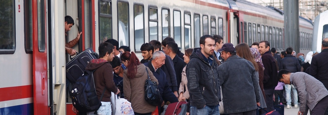 981 - Istanbul train - Steve