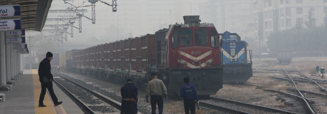 987 - Yük treni - Onur