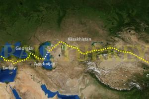 Xian Prague Route