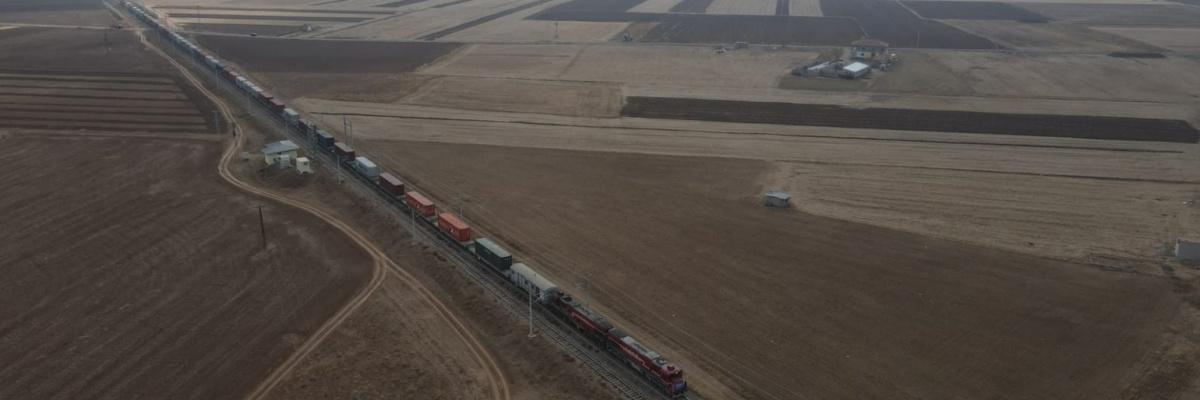 1036 - China train - TCDD Tasimacilik