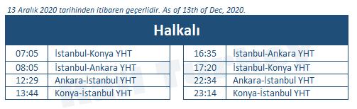 Halkali train station timetable